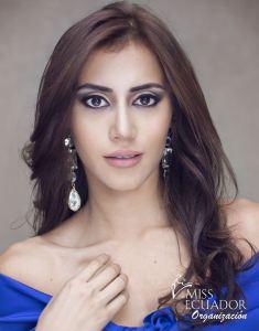 Marjorie Vivas from Santo Domingo is one of the contestants of Miss Ecuador 2017