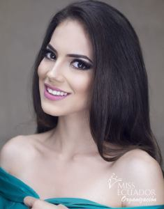 Rosa Torres from Quevedo is one of the contestants of Miss Ecuador 2017