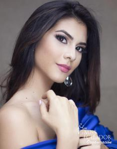 Sofía Peñafiel from Guayaquil is one of the contestants of Miss Ecuador 2017
