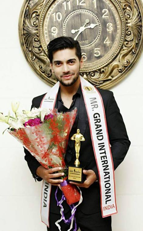 Meet the first Mr Grand India: Debojit Bhattacharya, Rubaru Mr India 2017