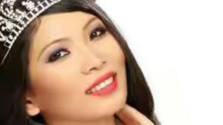 Rinky Chakma will represent Tripura at Femina Miss India 2017