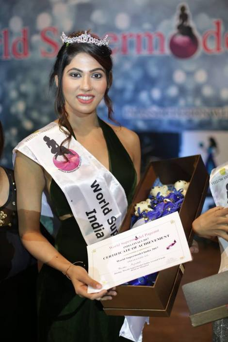 Renuka Kaushal wins World Supermodel India 2017 [Adult Category]