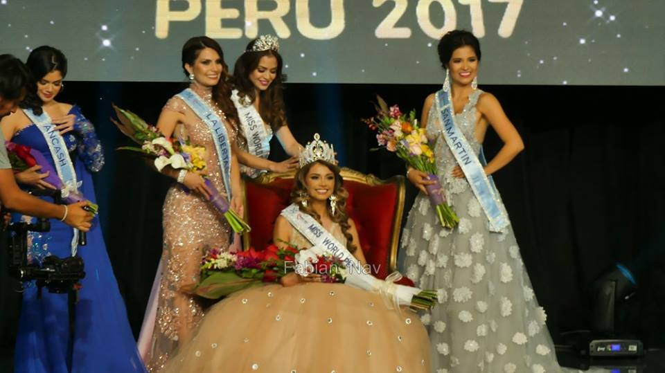Cynthia Pamela Sanchez is Miss World Peru 2017