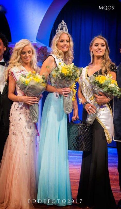 Hanna-Louise Haag Tuvér crowned Miss World Sweden 2017