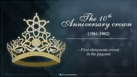 The rhinestone crown