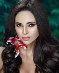Leidys Murillo is representing Herrera at Señorita Panama 2017