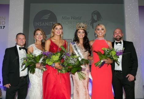Anna Henry crowned Miss Northern Ireland 2017