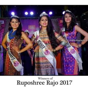 Top 3 winners of fbb Ruposhree Rajo