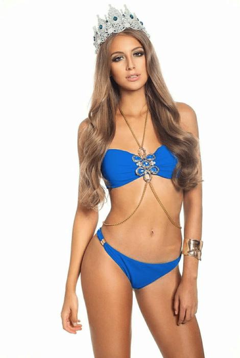 Nikola Uhlirova is Miss Grand Czech Republic 2017