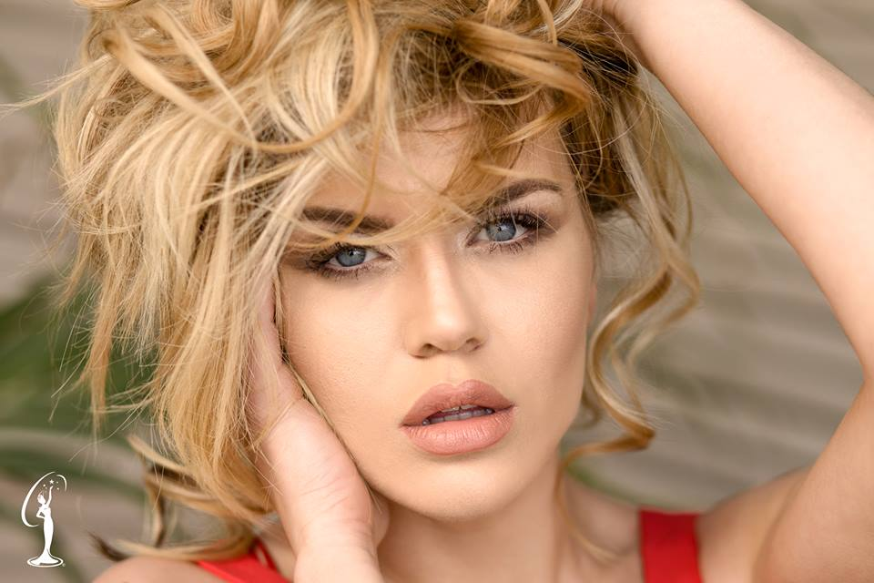 Kejvina Kthella is a contestant at Miss Universe Albania 2017