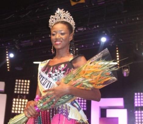 Mandjalia Gbané is Miss World Cote d'Ivoire 2017