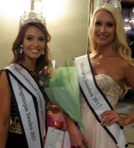 Frida Fornander crowned Miss Universe Sweden 2017