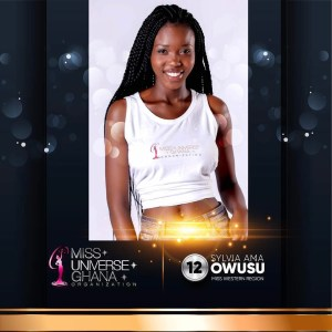 Sylvia Ama Owusu is representing Western Region at Miss Universe Ghana 2017