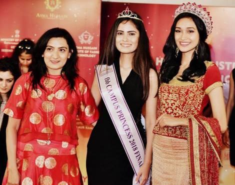 Pooja Sharma, Miss TGPC Elite 2016, wins fbb Campus Princess Lucknow