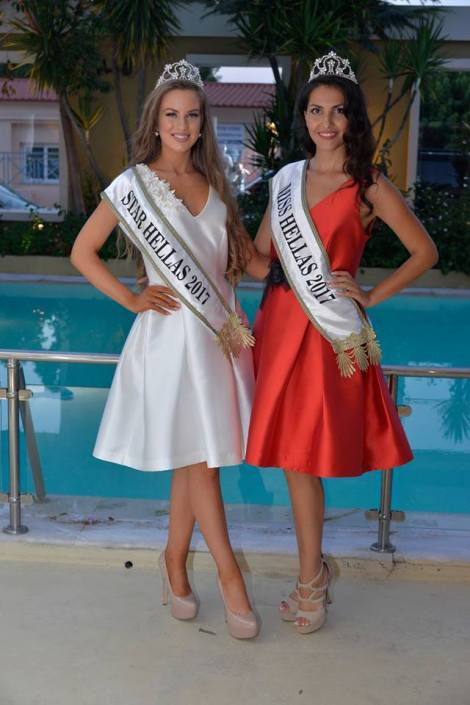 Theodora Soukia is Miss World Greece 2017
