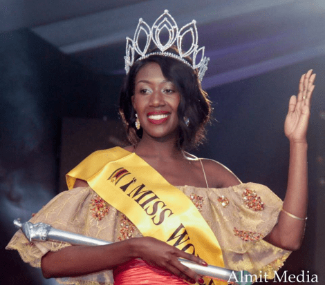 Chiedza Lorraine Mhosva will represent  Zimbabwe  at Miss World 2017