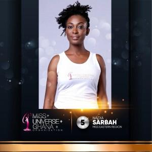 Nadia Sarbah is representing Eastern region at Miss Universe Ghana 2017