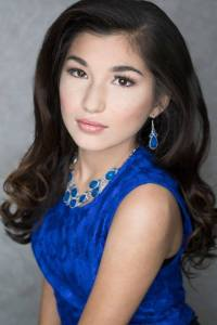 ANABELLA SULUH is competing at Miss Teen World America 2017