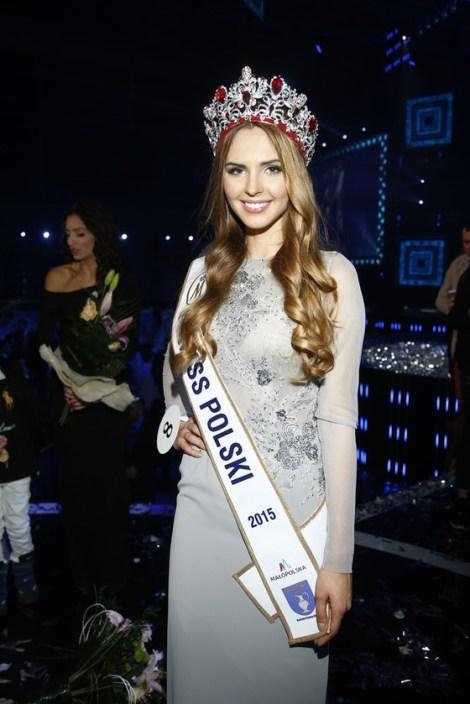 Magdalena Bieńkowska is Miss World Poland 2017