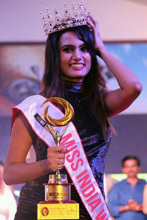 Gujarati Girl Nisha Mavani Wins Miss India Miss Supertalent 2017