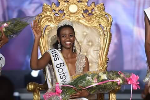 Nicole Gaelebale crowned as Miss World Botswana 2017