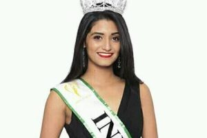Shaan Suhas Kumar is Miss Earth India 2017