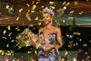 Lesley Chapman Andrews wins Miss Universe Barbados 2017