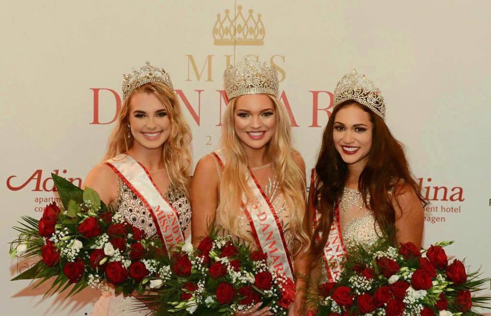 Amanda Petri crowned as Miss World Denmark 2017