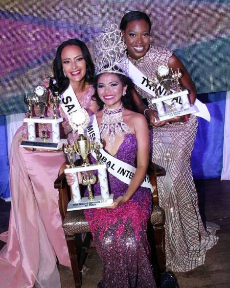 Cynthia Dookie from Guyana crowned as Miss Global International 2017