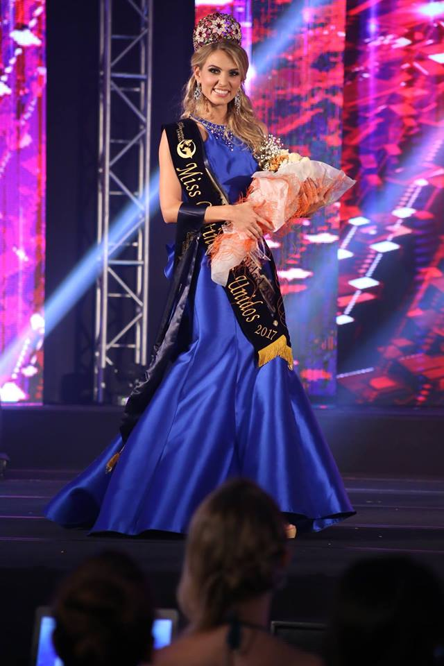 Tatiana Tsimfer from Russia wins Miss United Continents 2017