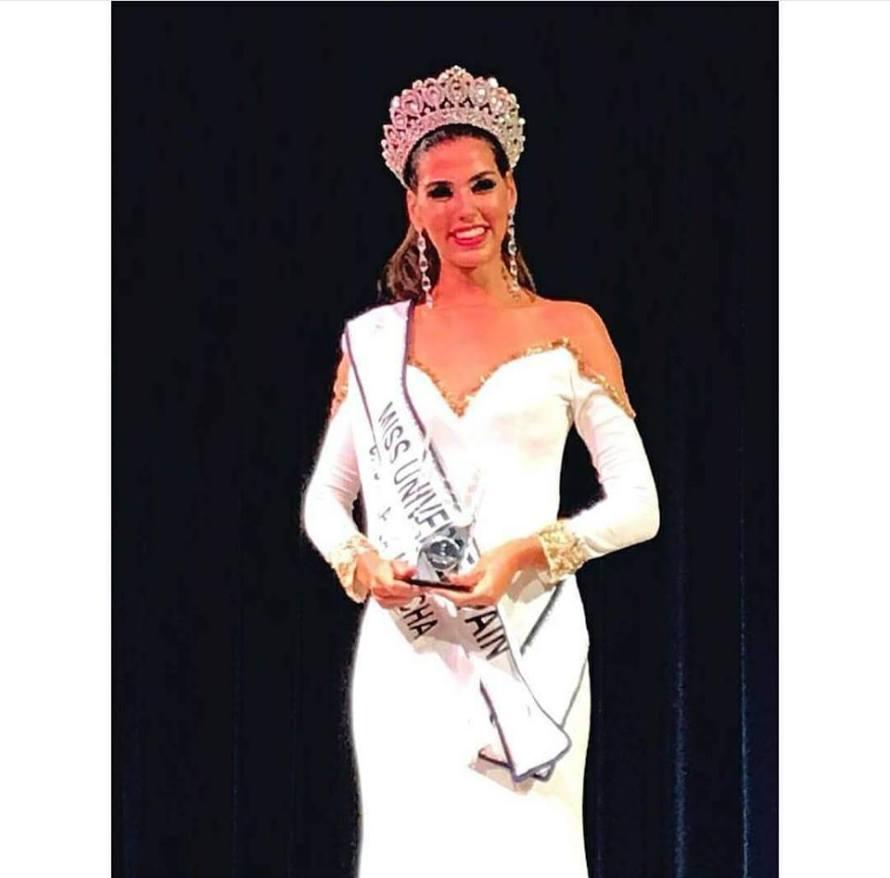 Sofía del Prado crowned as Miss Universe Spain 2017