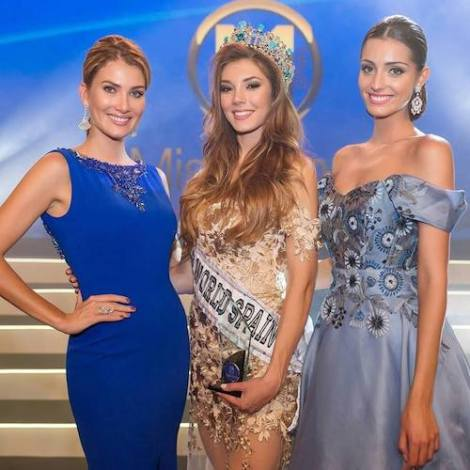 Maria Elisa Turian wins Miss World Spain 2017