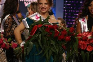 Aleksandra Chichikova of Belarus is Miss Wheelchair World 2017