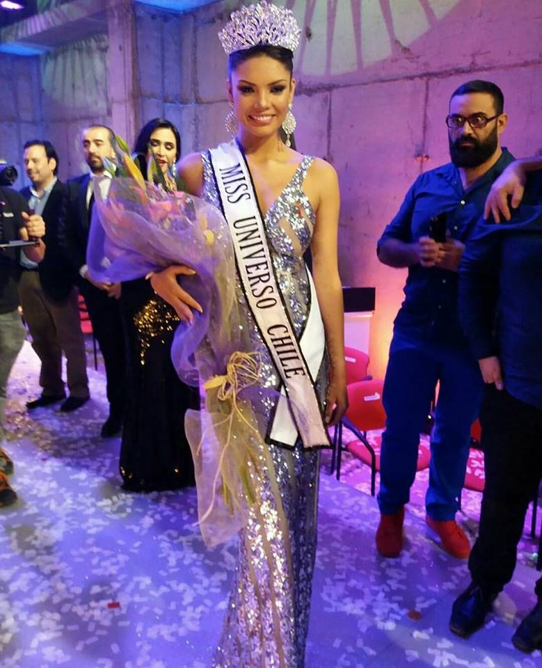 Natividad Leiva is Miss Universe Chile 2017