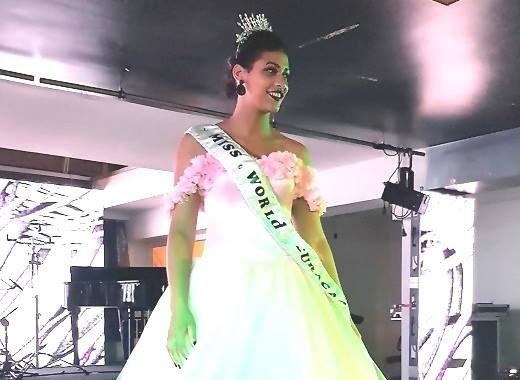 Vanity Girigori crowned as Miss World Curacao 2017