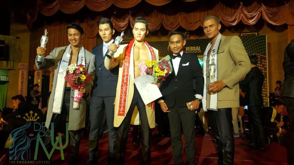 Luong Gia Huy from Vietnam wins Mister Universal Ambassador 2017