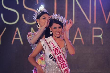 Hnin Thway Yu Aung crowned as Miss Universe Myanmar 2018