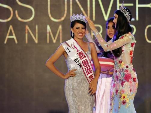 Hnin Thway Yu Aung crowned as Miss Universe Myanmar 2018