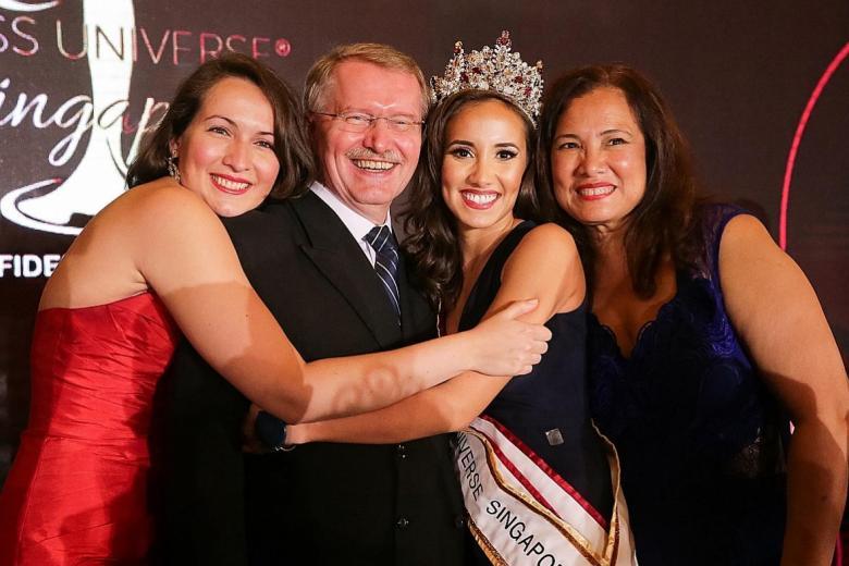 Manuela Bruntraeger is Miss Universe Singapore 2017