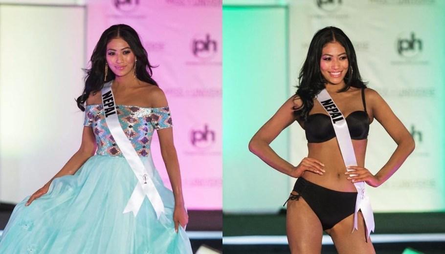 Miss Universe Nepal Nagma Shrestha