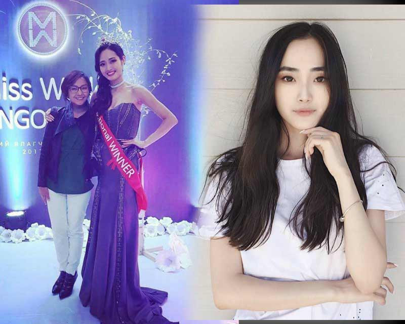 Enkhjin Tseveendash Miss Mongolia wins Miss Multimedia Fast Track at Miss World 2017