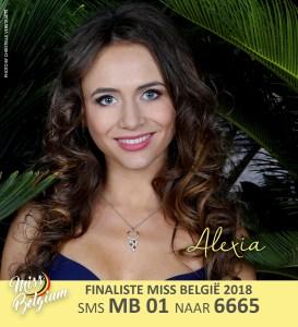 Miss Belgium 2018 Contestants