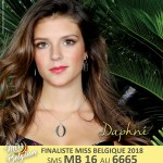 Miss Belgium 2018 Contestants
