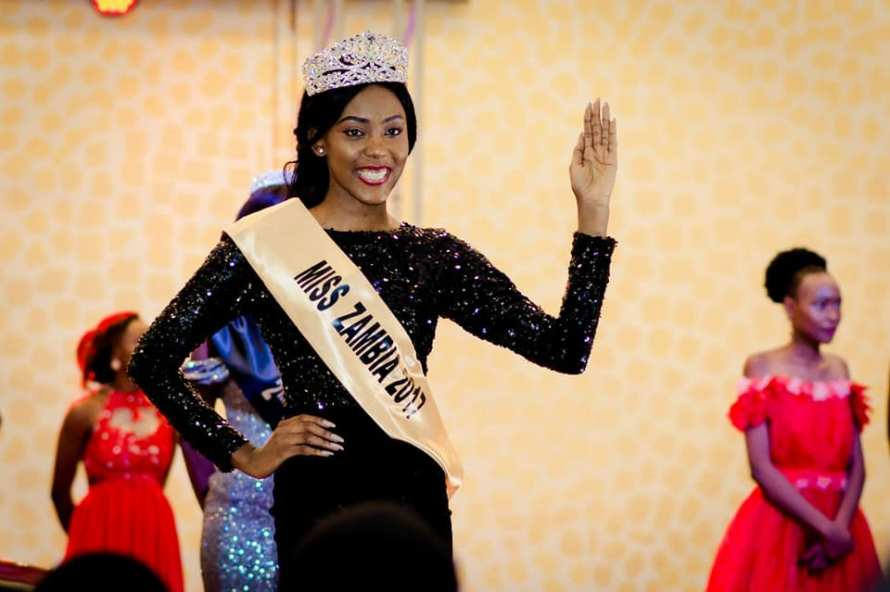 Musa Kalaluka is Miss Zambia 2017