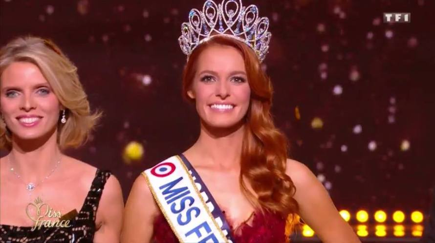 Maeva Coucke wins Miss France 2018