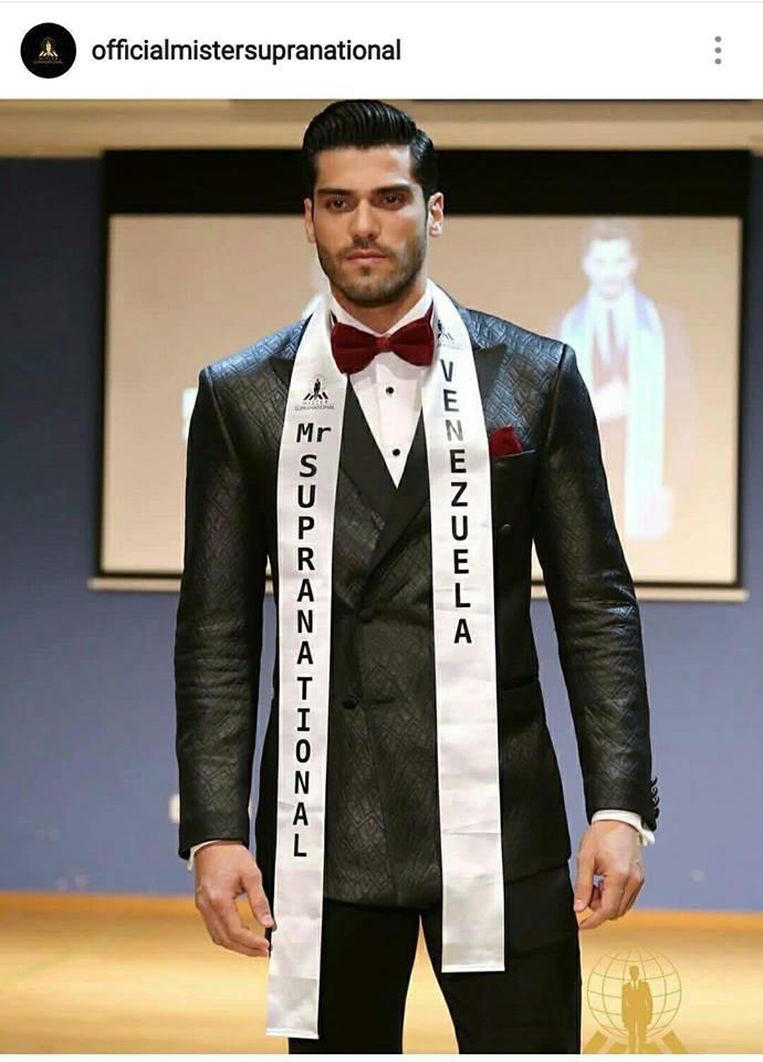Mister Venezuela Gabriel Correa wins Mister Supranational 2017