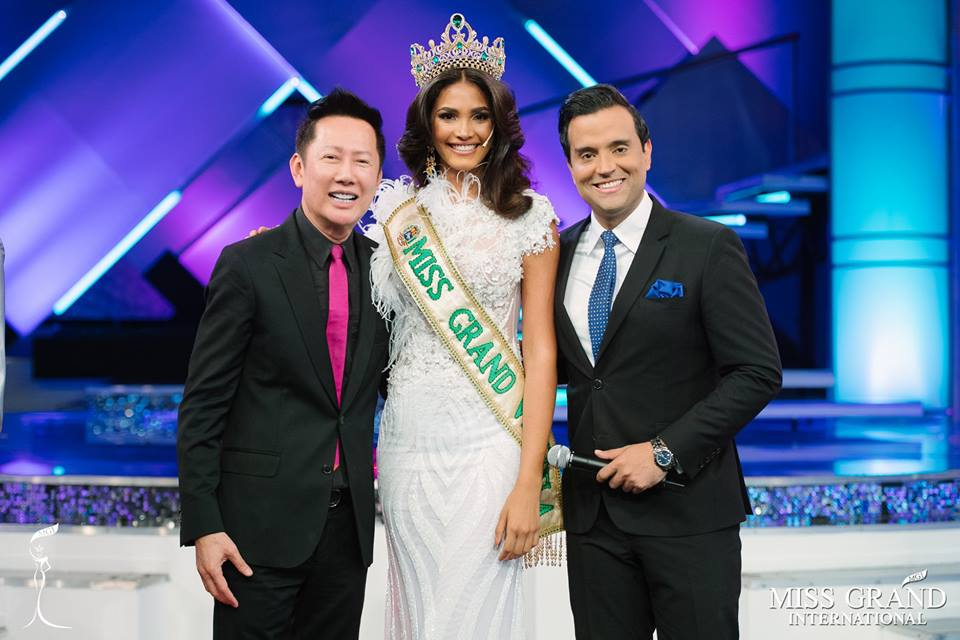 Biliannis Alvarez crowned Miss Grand Venezuela 2018