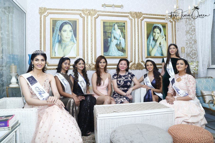 Yukta Upadhyay wins The Tiara Queen by TGPC March 2018