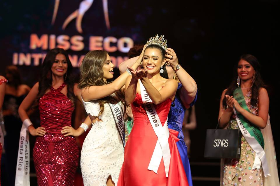 Cynthia Thomalla from Philippines crowned as Miss Eco International 2018
