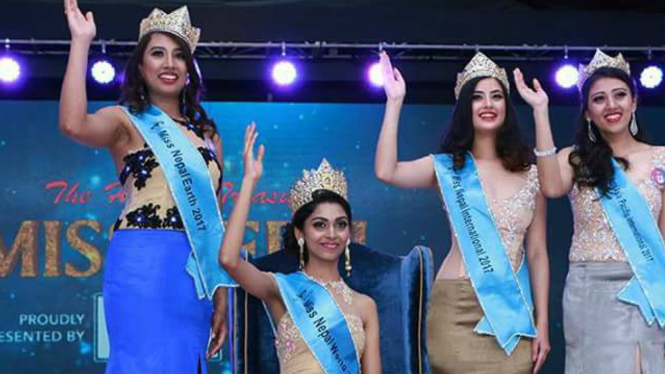 Miss Nepal 2018 Contestants